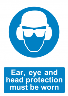 Ear, Eye and Head Protection