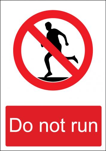 No Running