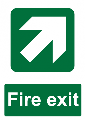 Fire Exit Direction - North East