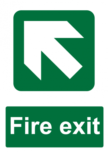 Fire Exit Direction - North West