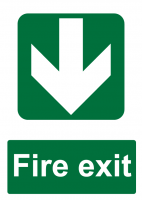 Fire Exit Direction - Backwards