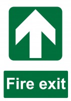 Fire Exit Direction - Forwards
