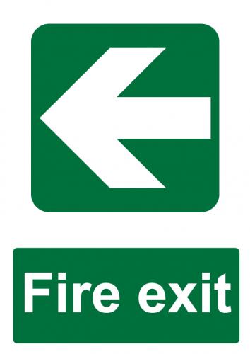 Fire Exit Direction - Left