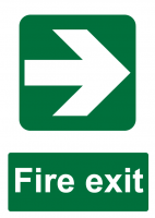Fire Exit Direction - Right
